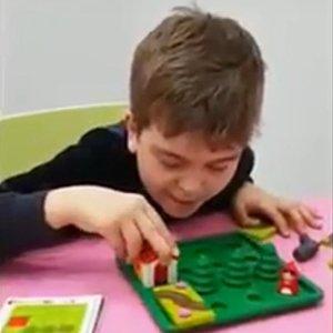 """Игра """"Красная шапочка"""" от Бондибон на построение дорожек"""
